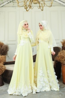 Elsa Dress - Yellow