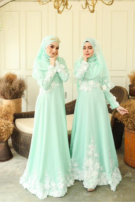 Anna Dress - Mint Green