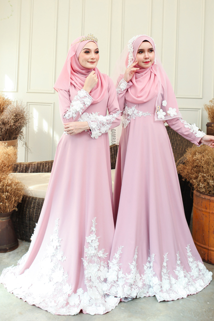 Elsa Dress - Dusty Pink