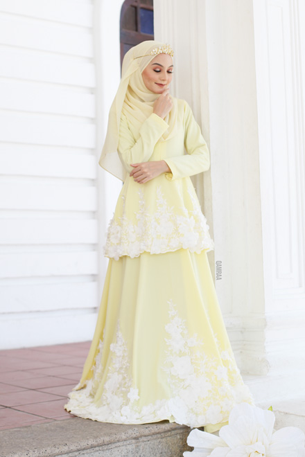 Belle Dress - Yellow