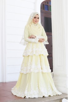 Ella Dress - Yellow