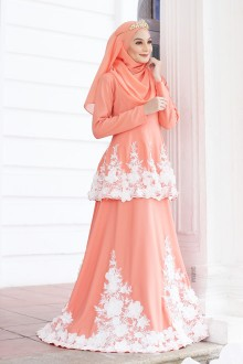Belle Dress - Peach