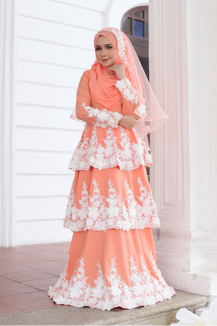 Ella Dress - Peach