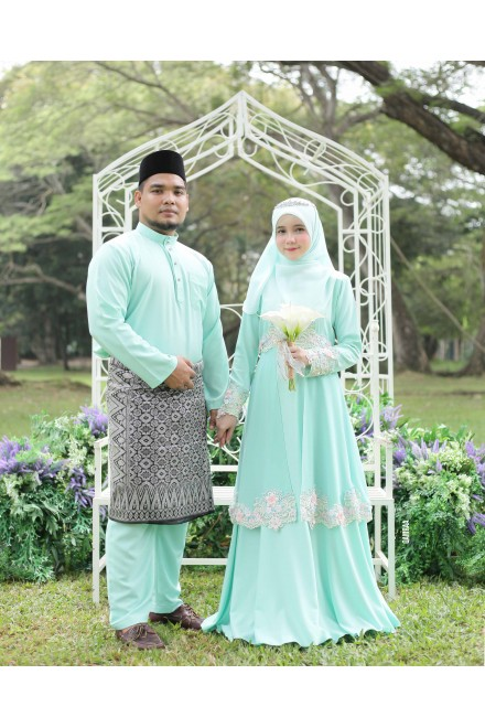 SET ANGGUN MINT GREEN