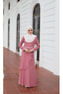 Durra Dress - Rosewood Rose