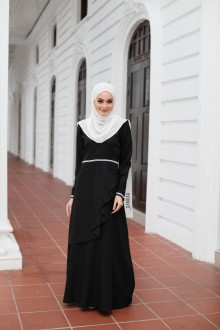 Durra Dress - Majestic Black