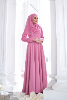 Puteri Inara Dress Rosepink