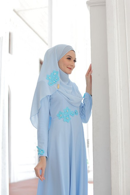 DRESS FARISHA POWDER BLUE
