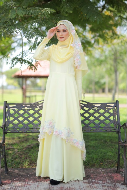 Xaviera Dress Yellow