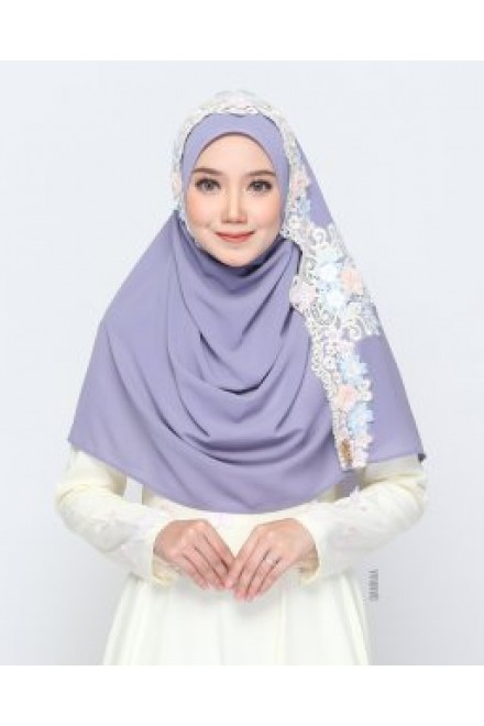 Xaviera Shawl Dusty Purple