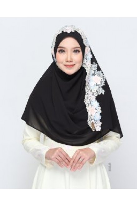 Xaviera Shawl Black