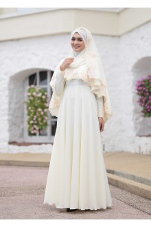 XANDRA DRESS CREAM