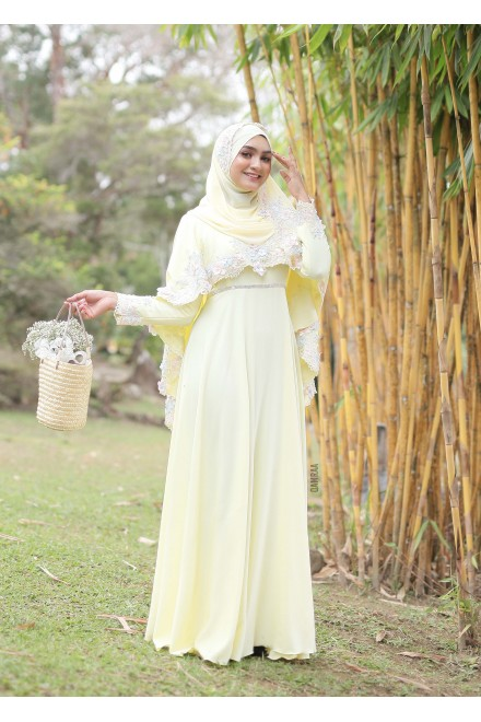 XANDRA DRESS YELLOW